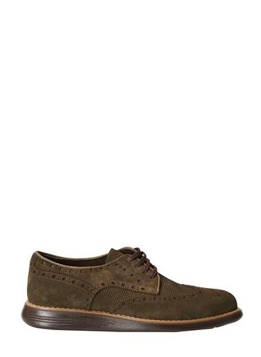 Altınyıldız Classics Casual Rahat Deri Ayakkabı 4A2221100001 Haki